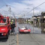 豪雨による内水氾濫
